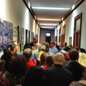 Prohlídka výstavy o historii Marzotto Group