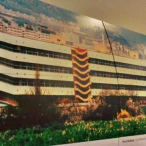 Součástí výstavy o historii Marzotto Group je i panel Nové Mosilany
