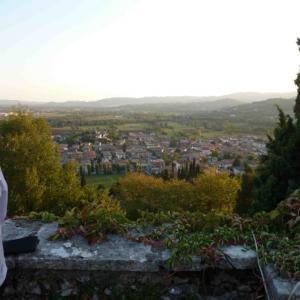 Villa Trissino Marzotto výhled