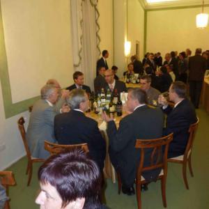 V sále Cavallerizza: naše vedení