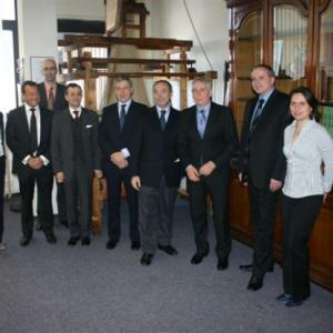 Návštěva italského velvyslance 2012