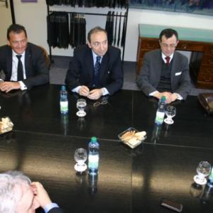 S panem velvyslancem přijel i ředitel kulturního institutu a předseda italskomoravské kulturní asociace.