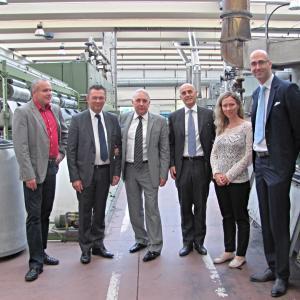 Návštěva italského velvyslance