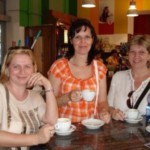 Na kávě v Benátkách.