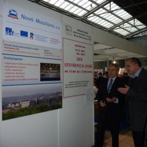 Slavnostního zahájení se zúčastnil předseda představenstva a ředitel pro lidské zdroje Nové Mosilany, a.s.