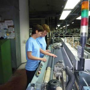 Profesní školení na tkalcovně