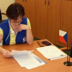 Podpis pracovní smlouvy